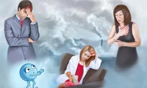 Симптомы и лечение симпатоадреналового криза, факторы вызывающие развитие болезни