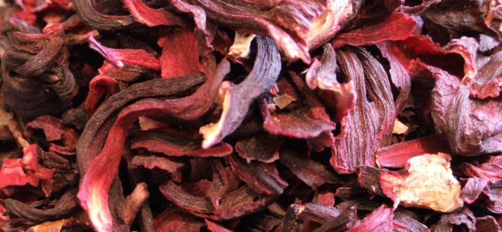 листья каркаде