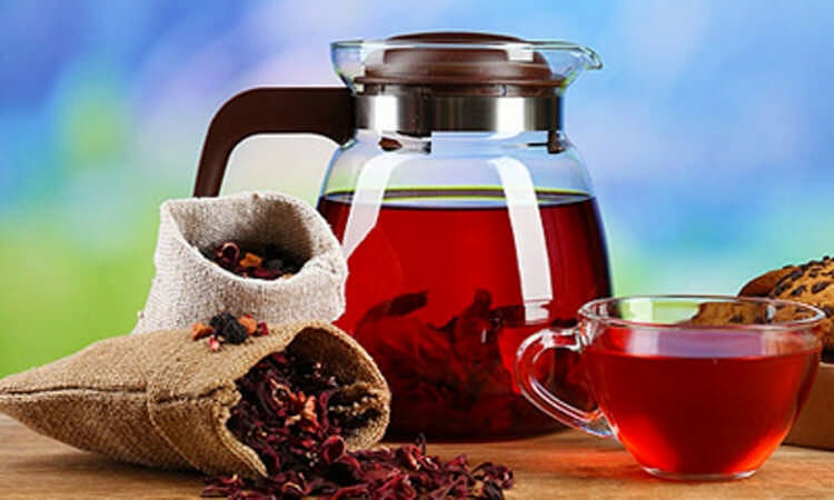 горячий чай каркаде