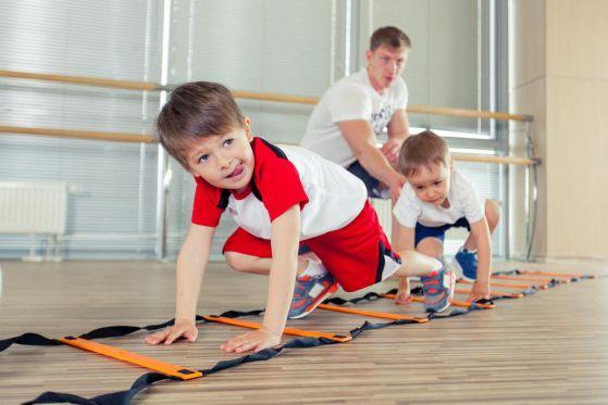 физкультура для ребенка
