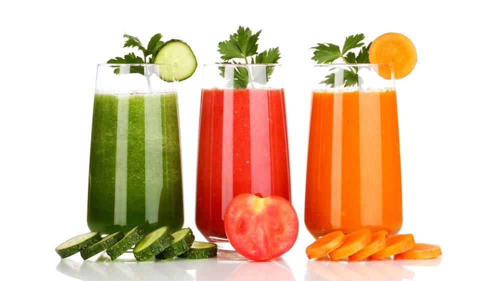 овощные коктейли