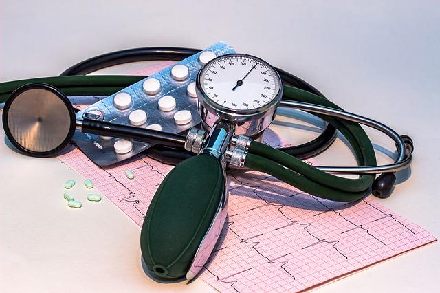 тонометр таблетки и кардиограмма