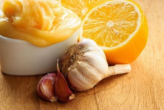 мед чеснок апельсин
