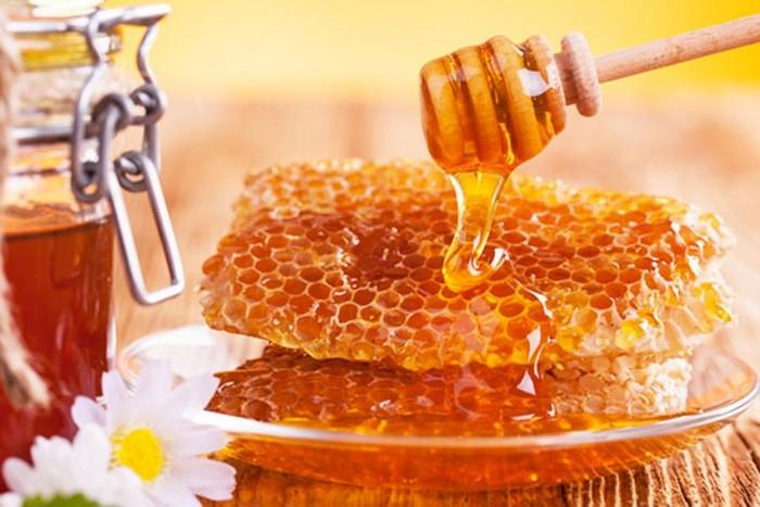 мед с сотами