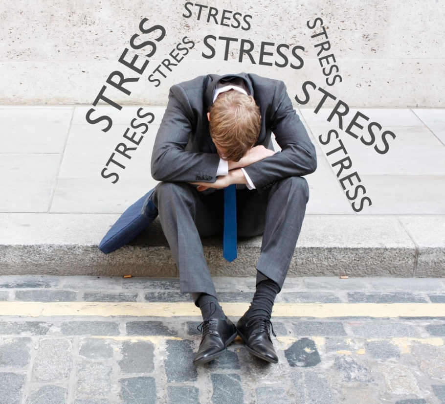 мужчина и стресс
