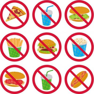 запрет на вредную пищу