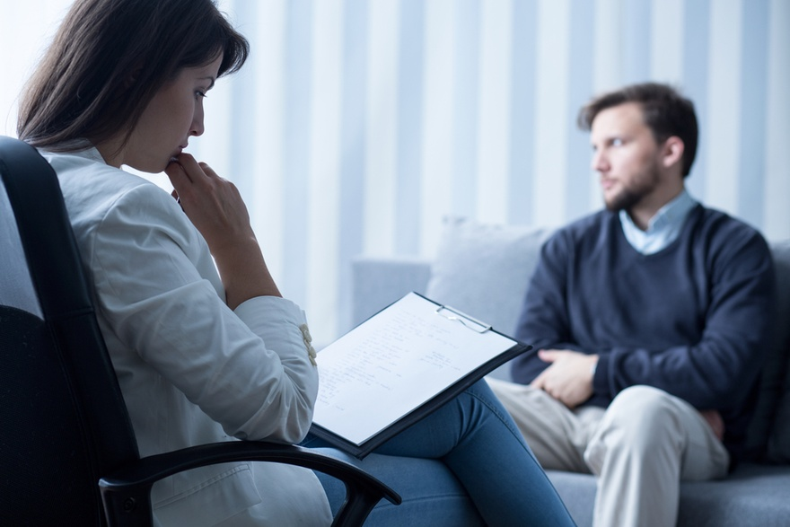 сеанс психотерапии