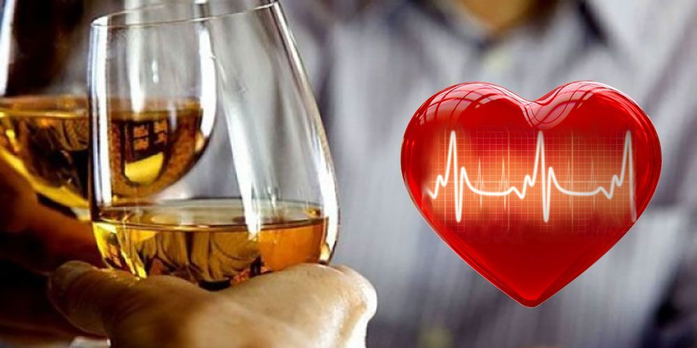 бокалы и сердце