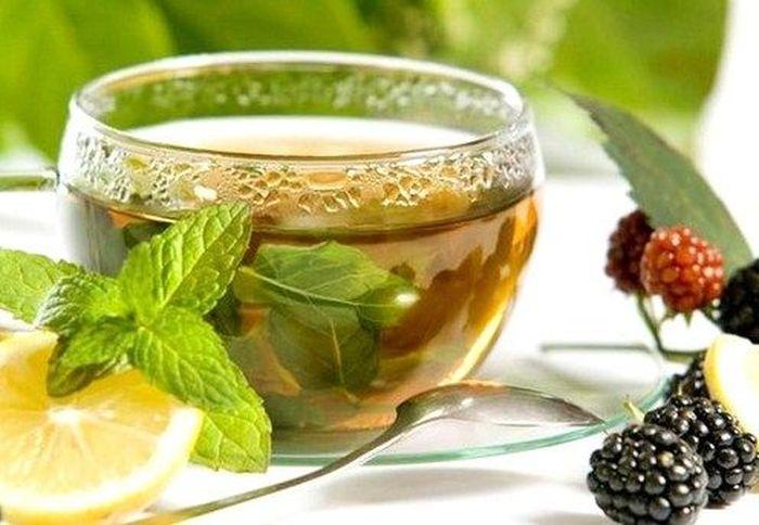 чай из ягод