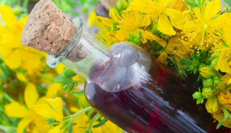 вино и зверобой