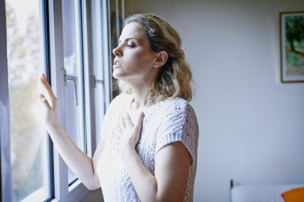 нехватка воздуха при дыхании